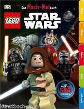 Fachbuch LEGO® Star Wars™ Das Mach-Malbuch, mit vielen Stickern, NEU