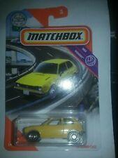 2020 matchbox 1/64th highway yellow '76 honda civic cvcc