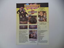 advertising Pubblicità 1989 EASYRIDERS EASY RIDERS e HARLEY DAVIDSON