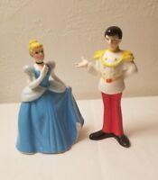 DISNEY Cinderella Prince Charming Porcelain Ceramic Figurine Japan Rare Pose EUC
