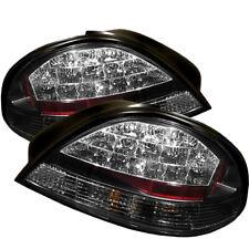 Pontiac 99-05 Grand AM LED Rear Tail Brake Lights Lamp Set Black SE GT