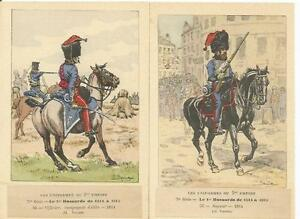 Cdt Bucquoy - Uniforms 1er Empire - Series 79 - The 1° Hussards Of 1814 IN 1815