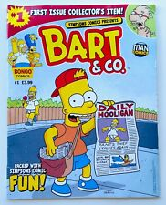 First Issue Collector's Item: Simpsons Comics Presents Bart & Co Comic Book