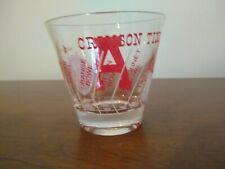 Vintage Alabama Crismon Tide Bowl Game Glass