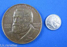 Big 70 mm International Harvester Company Centennial of Reaper medallion 1931