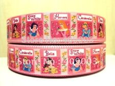 "Disney Princess Ribbon 1/"" Wide NEW UK SELLER FREE P/&P"