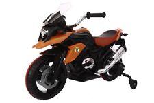 Moto Motocicletta Elettrica per Bambini  BMW GS MOTO Flower 12V  ARANCIONE