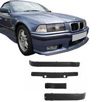 BMW E36 Front Bumper Moldings Mouldings Panels Trims M3 1992-1998 Sport