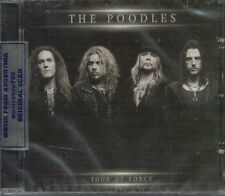 THE POODLES TOUR DE FORCE + BONUS TRACK SEALED CD NEW 2013