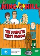 King Of The Hill Season 1 region 4 DVD (3 discs) animated tv series vgc