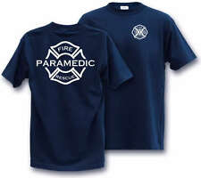PARAMEDIC FIREFIGHTERS  LARGE T-Shirt Fire Fighter emt