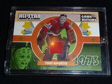 03-04 ITG NHL FANtasy All-Star History SuperBox JSY Tony Esposito /20 VERY RARE