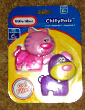 Little Tikes Chilly Palz Cute Kitty Cat and Puppy Dog gel teethers pink girls