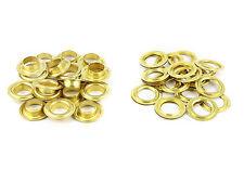 50 x Oeillets 20 mm anneaux en laiton oeillets ronds Brass oeillets pour bâche