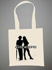 The Avengers Eco Shopper Tote Bag Diana Rigg John Steed