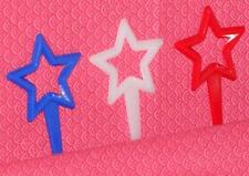 Patriotic,4th of July,Red/White/Blue Stars,Cupcake Picks,12ct.Bakery Craft, F-78