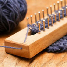 Wood Loom Board Wooden Fine Gage Gift Wood Knitting New Hot Sale Stock Elements