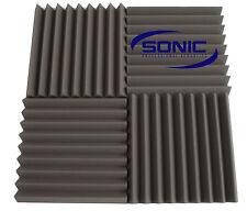 Wedge Profile Acoustic foam sound treatment tile pack, professional studio/music