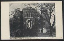 Postcard SWANTON Ohio/OH  Marygrove Church Reverend Fred Wilhelm Pastor 1925