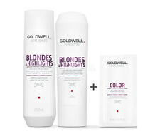 Goldwell Dualsenses Blondes & Highlights Shampoo +Conditioner+ C Shampoo 10ml
