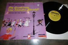 GESCHICHTE vom TÖNENDEN BLEISTIFT -- von Kurt Vethacke / LP von Philips 1966
