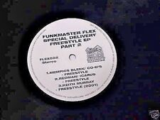 FUNKMASTER FLEX SPECIAL DELIVERY FREESTYLE EP PART 2 VINYL RECORD 2001 FRANCHISE