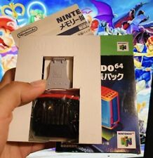 Genuine Authentic OEM Nintendo 64 N64 Expansion Pak Pack Booster Ram Memory Red