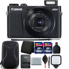 Canon PowerShot G9 X Mark II 20.1MP Digital Camera with 48GB Accessory Bundle