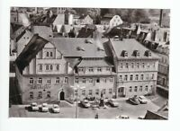 uralte AK Pulsnitz Rathaus mit HOG Ratskeller am Platz der Befreiung 1990 //94