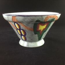 "Wheelock ""Black Forest"" Hand Painted Pottery Vase/Bowl"
