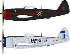 Hasegawa 1/72 Thunderbolt MK2 RAF Fighter Combo 2 pk Ltd Edition 2033