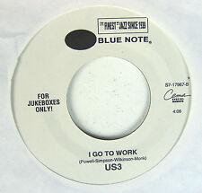 "US 3 - Tukka Yoot's Riddim / I Go To Work  7"" 45 Promo Jukebox Blue Note Cema"