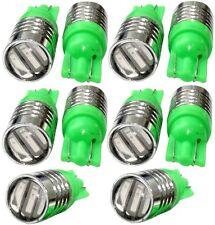 10x ampoule T10 W5W 12V 3LED SMD vert veilleuses éclairage intérieur plaque