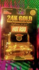 24K Gold Diecast  Car 1:64 1951 Studabaker NIP