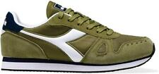 Scarpe uomo Diadora Simple Run 70415 verde bianco blu sneakers sportiva casual