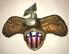 Merck Family's Old World Christmas American Eagle Tree Ornament