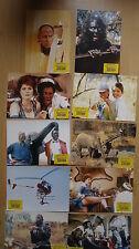 Q320 - 12x Aushangfotos - YANKEE ZULU 1993 Leon Schuster, John Matshikiza, Wilso