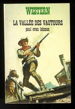 WESTERN  N° 39  LA VALLEE DES VAUTOURS    PAUL EVAN LEHMAN