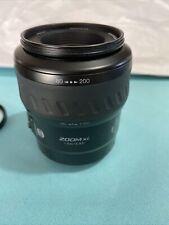 Minolta Maxxum 80-200mm f4.5-5.6 AF Lens - With Sunpack 55mm UV
