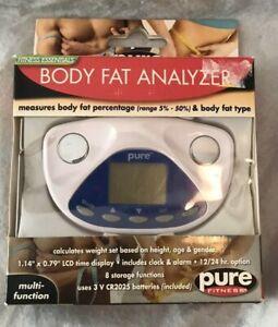 Pure Fitness Body Fat Analyzer Multi Function