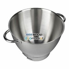 Kenwood AW36385B01 36385 36385A Chef Sized Stainless Steel Bowl with Handles