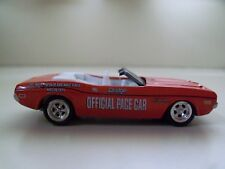 JOHNNY LIGHTNING - (1971) '71 DODGE CHALLENGER CONVERTIBLE INDY 500 PACE CAR