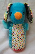 "Infantino Baby COLORFUL SQUEAKING ELEPHANT 5"" Plush STUFFED ANIMAL Toy"