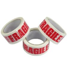 6 Rolls Strong 50mm  Fragile Printed  Packing Parcel Package  Tape