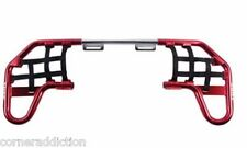 Nerf Bars by Tusk for HONDA TRX 250EX/250X 2001-2016 Red/Black Webbing
