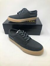 Polo Ralph Lauren Vance Side Lace Canvas Low Top boat Shoes Men 7.5 D Gray New