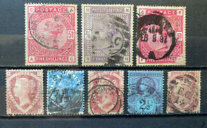 GB QV Old Collection All With Faults