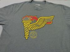 Ranger Up Apparel  Gray  T Shirt Size Large  FLAW