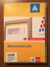 Blitzrechnen 3/4 Lernsoftware für den Mathe-Unterricht in der Grundschule