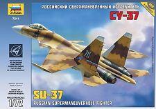 Zvezda Model 7241 Sukhoi Su-37 Russian Supermaneuverable fighter Scale 1/72